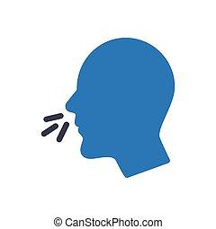 flu glyph color icon