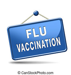 flu vaccination needle immunization shot