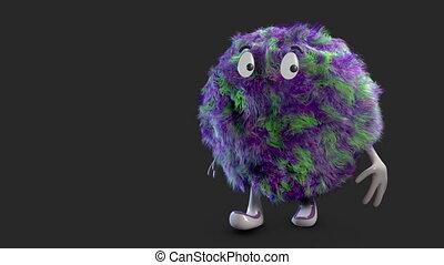 fluffy hairy ball alpha channel - Happy Fluffy Hairy Ball...