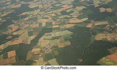 flug, aus, deutschland