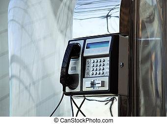 flughafen, telefon