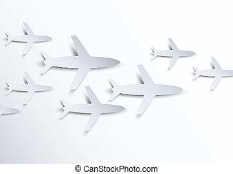 flugzeuge, hintergrund