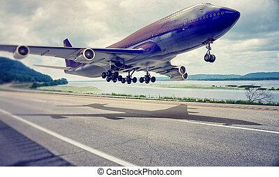 flugzeuglandung