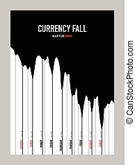 Fluid currency chart blank template