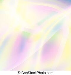 Fluid Iridescent Multicolored Vector Background. Good For Banner, Poster, Brochure. Spectrum Colors