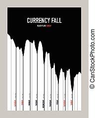 fluido, moeda corrente, mapa, em branco, modelo
