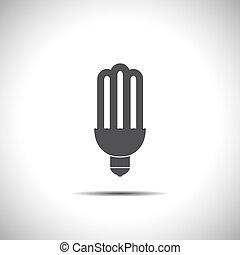 fluorescent saving light bulb