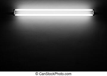 fluoreszierendes licht