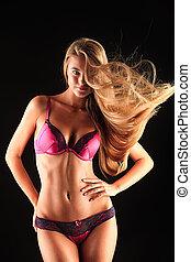 flusso continuo, capelli