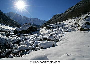 flusso montagna
