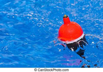 flutuador, pesca