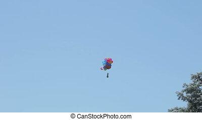 Fly away balls