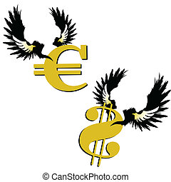 fly euro and fly dollar