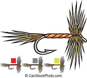 fly fishing flies, fishing fly, fly fishing lure, fishing...
