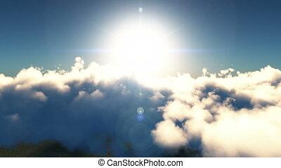 fly in heaven sky
