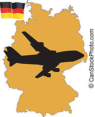 fly me to the Germany