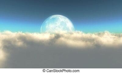 fly moon