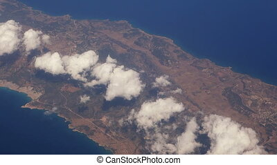 Fly over Cyprus