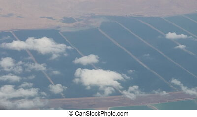 Fly over the Dead Sea