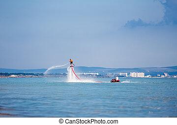 flyboard, mer