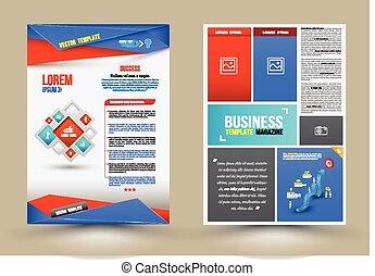 Flyer, Brochure Design Templates.