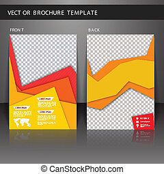 Flyer brochure template