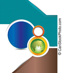 Flyer design or business presentation