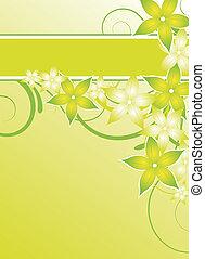 flyer, groene