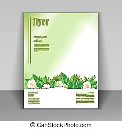 flyer, natuur