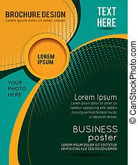 Flyer or brochure template