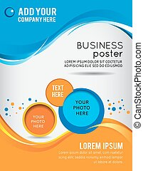 Flyer or brochure template