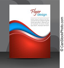 Flyer or cover design