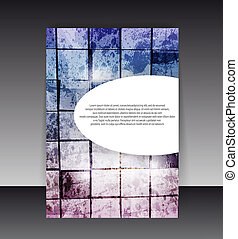 Flyer or Cover Design. Folder design content background....