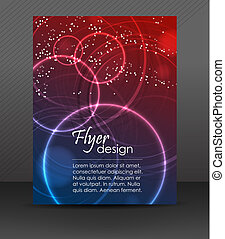 Flyer or cover design - Professional business flyer...