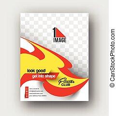 Flyer, Poster & magazine design Layout