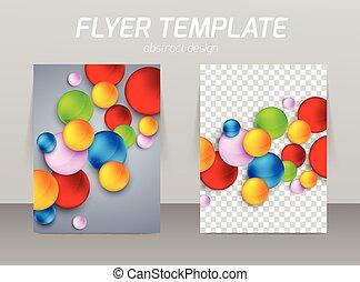 Flyer template