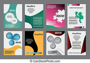 flyer,brochure template. vector