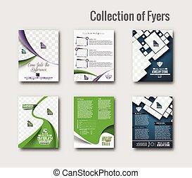 flygare, &, affisch, design