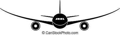 flygplan, vektor