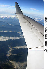 view from aeroplane