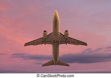 Flying aircraft