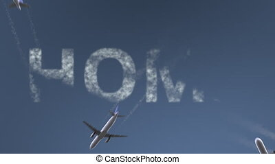 Flying airplanes reveal Homs caption. Traveling to Syria...