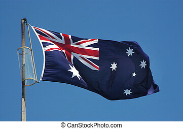 Australia Flag - Flying Australia Flag