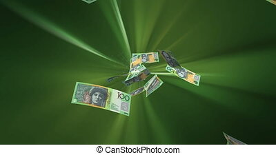 Flying Australian Dollar