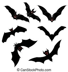 Flying Bats Set
