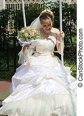Flying bride