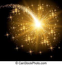 Flying Christmas star