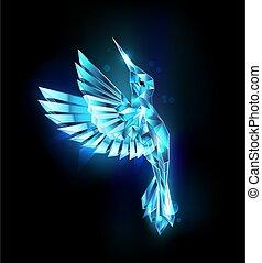 Flying Crystal Hummingbird