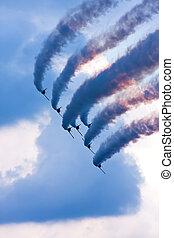 Flying demonstration