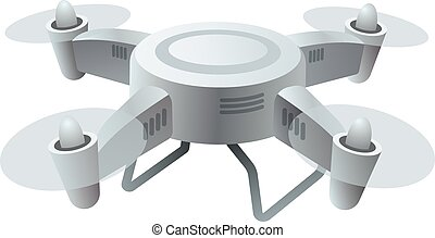 Flying Drone Stock Illustrations 5124 Clip Art